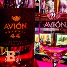 Top Shelf Featuring Avion Reserva 44 at Vanessa's Bistro 2. #VanessasBistro2 #Avion44 #ChoosePleasure #FoodandDrink #Tequila #RestaurantResign