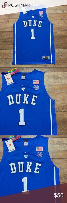 NWT Zion Williamson Duke Nike Jersey Large 🔥🔥🔥 Brand New w Tags Men s  Size 6a4439445