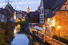 Colmar France...Alsatian village.