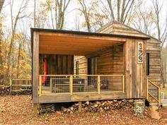 Tiny Modern Rustic Tiny Cabin Vacation near Asheville NC 0023