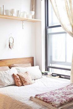 Kleine knusse slaapkamer | Wooninspiratie