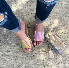 Affordable Online Boutique – Save – A Life To Liv Affordable Online Boutique – Save Amazing Clear Peep Toe Sandals Cute Sandals, Sport Sandals, Cute Shoes, Me Too Shoes, Jelly Sandals, Mode Style, Summer Shoes, Fall Shoes, Shoe Boots