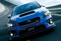 """The Subaru WRX STI made its debut at the 2015 Tokyo Motor Show, limited to just 400 units and being labeled as the """"world's most enjoyable vehicle. Subaru Impreza, 2016 Subaru Wrx, Subaru Cars, Jdm Cars, Sti Car, Tokyo Motor Show, E Motion, Train Car, Japanese Cars"""