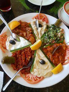 Turkish mezzes  Enjoy tours around Turkey and Greece with FEZ Travel: www.feztravel.com/
