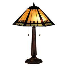 Meyda Tiffany 82313 2 Light Albuquerque Table Lamp, Mahogany Bronze - Lighting Universe 25 h x 171/2 in w