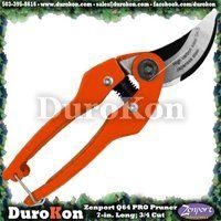 Zenport Q64 Heavy Duty Professional Pruner, SK5 Japanese Steel Cutting Blade, .75-Inch Cut, 7-Inch Long [ZEN-Q64] - $11.14 : DuroKon.com, Discount Tools & Supplies for Farm, Garden, Greenhouse, Landscape, Nursery, Orchard & Vineyard