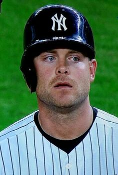 Re pinned by a Yankee fan from a Met fan who wrote: The only Yankee I love. Brian McCann. Wish Mets could get him! No way Jo!!!!!