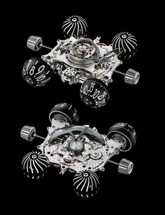 The HM6 Enginemovement, front and back. Source: MB&F
