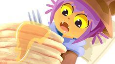 tibblewinklesart: The cute Niko! and the pancakes of dreams!