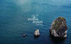 """Endless Ocean"" by Jonathan David and Melissa Helser // Laptop wallpaper format // Like us on Facebook www.facebook.com/worshipwallpapers"