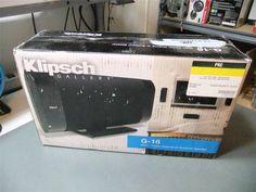 """Klipsch Gallery G-16 3-1/2"""" Flat-Panel Speaker NEW #Klipsch"""