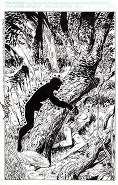 Marvel Comics Presents 79 (p17) by John Byrne (1991).