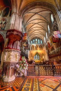 Saint Patrick Cathedral Dublin Ireland