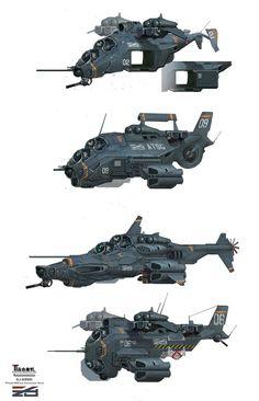 ArtStation - aircraft, Mark Sanwel: