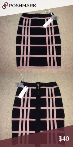 Pencil skirt Sexy pencil skirt with a tanish pink pattern, made out of a spandex like material stretta Skirts Pencil