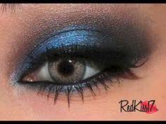 tutorial look noche azul - YouTube