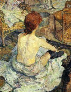 It's About Time: Henri de Toulouse-Lautrec (1864-1901) painted Carmen Gaudin