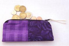 Wallet  handmade  ziper closure by Serenalabdotcom on Etsy