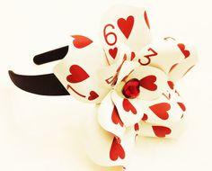 Alice in Wonderland Playing Card Headband by LittleAsianSweatshop, $27.00