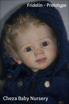 FRIDOLIN Cheza Baby Reborn baby PROTOTYPE 1 KAROLA WEGERICH IIORA BARGAIN  | eBay
