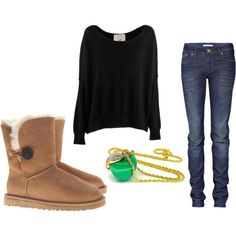outfits with uggs | Simple Outfits with Uggs!