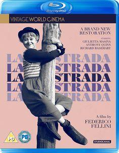 La Strada (Recent Restoration) - Blu-Ray (Studiocanal Region B) Release Date: June 5, 2017 (Amazon U.K.)