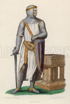 Rollo, Duke of Normandy, Norse invader of France who, preferring the .
