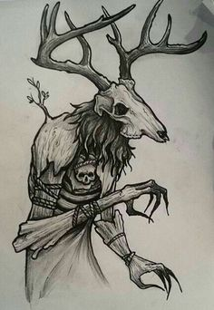 I like these kind of drawings and I have know idea why? Creepy Drawings, Sketches, Fantasy Art, Satanic Art, Dark Drawings, Creature Art, Illustration Art, Art Sketches, Cool Drawings