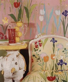 The colourful influence of textile designer Paule Marrot · Miss Moss #colorful #pattern #homedecorideas