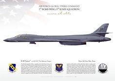 UNITED STATES AIR FORCEAIR FORCE GLOBAL STRIKE COMMAND 7TH BOMB WING, 9TH BOMB SQUADRON Dyess Air Force Base, Texas