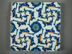 Iznik tile-1560 ca-The Museum of Islamic Art-Qatar