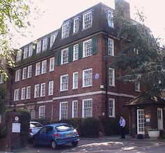 The home of poet Dame Edith Sitwell, Flat 42, Greenhill, London NW3