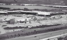 Barra Shopping em construção - 1980