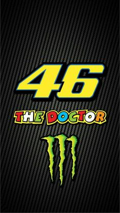 "Vale Spirit tiger you are showing every circuits. That is our soul. We continue to say ""Forza VR"" Valentino Rossi Logo, Valentino Rossi Yamaha, Vale Rossi, Velentino Rossi, Course Moto, Gp Moto, Vr46, Monster Energy, Super Bikes"