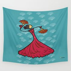 Buy Flamenco dancer Wall Tapestry by giuseppelentini. Worldwide shipping available at Society6.com. Just one of millions of high quality products available.