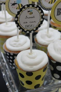 """Mother to """"Bee"""" cute baby shower theme!"""