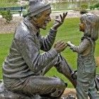 Walaky Garden Sculpture, Outdoor Decor, Lose Belly