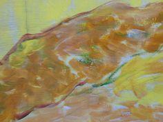 A-4282-44a,color, /act/  80 x 120 cm, akryl Jan Banois, 2015 Banská Bystrica, Slovakia