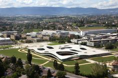 EPFL - where I spent my college years - lots of math, little fun, hard work.