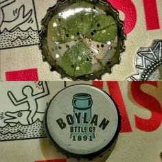 The #bottlecap charm is from @boylanbottling #boylan #fourleafclover #4leafclover #boylansoda #boylanholiday #boylanbottling #boylanbottlingco #handmadejewelry #homemade #jewelry #handmade