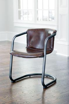Cigar Brown Axl Chair @scrapwedo