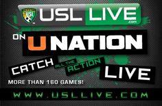 Region3SoccerUSA: Watch USL-PRO Region III Teams Live & Free on UNation