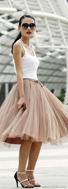 """EVERY mom needs a """"girly Tulle skirt"""" w a Muscle Man """"T"""". #BoudoirBeauty <---- I;d wear this BECAUSE I CAN"""