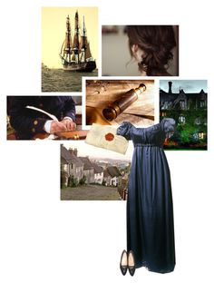 """""""Persuasion - Jane Austen"""" by onemonday ❤ liked on Polyvore featuring Nexus, Chanel, books, JaneAusten and Persuasion"""