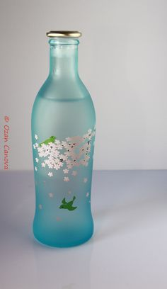 Japanese Sake bottle