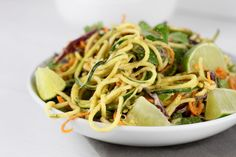 Spicy Asian Zucchini Noodles   https://therealfoodrds.com/spicy-asian-zucchini-noodles/