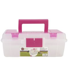Tired of searching for all your crafting tools? Pick up our Craft Tool Box at Joann today!