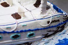 Speed Boat Groom's Cake Closeup- Mueller's Bakery Speed Boats, Wedding Cakes, Bakery, Desserts, Food, Wedding Gown Cakes, Tailgate Desserts, Fast Boats, Deserts