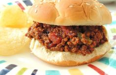 Slow Cooker Sloppy Joes recipe from Christy Jordan's Southern Plate