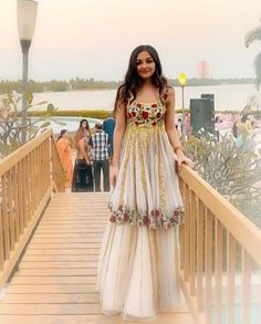 Looks Which Are Aww Adorable - AwesomeLifestyleFashion - Looks Which Are Aww Adorable – AwesomeLifestyleFashion Source by - Sharara Designs, Lehenga Designs, Designer Party Wear Dresses, Indian Designer Outfits, Indian Bridal Outfits, Pakistani Outfits, Indian Attire, Indian Ethnic Wear, Indian Gowns Dresses